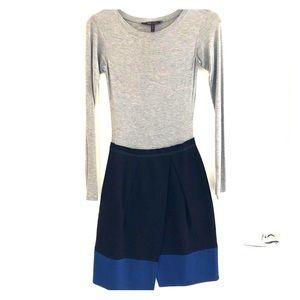 BCBG MaxAzria long sleeve jersey dress